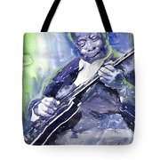 Jazz B B King 02 Tote Bag