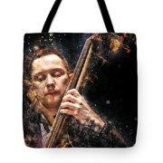 Jazz Bass Player Tote Bag