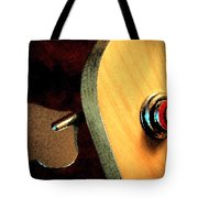 Jazz Bass Tuner Tote Bag