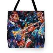 Jazz Brothers Tote Bag