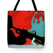 Jazz Goose Tote Bag by Bill Cannon