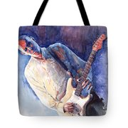 Jazz Guitarist Rene Trossman Tote Bag