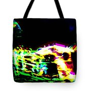 Jazz Horn And The Abstract Truth Tote Bag