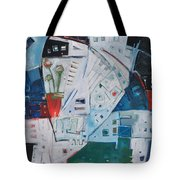 Jazz In Bloom Tote Bag