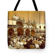 Jazz In Piazza San Marco Tote Bag