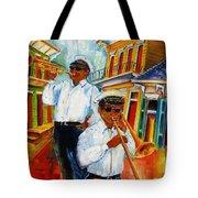 Jazz In The Treme Tote Bag