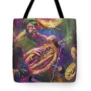 Jazz Jazzband Trio Tote Bag