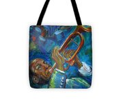 Jazz Man Tote Bag
