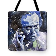 Jazz Miles Davis 11 Blue Tote Bag