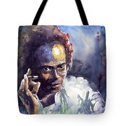 Jazz Miles Davis 11 Tote Bag