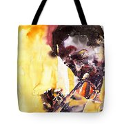 Jazz Miles Davis 6 Tote Bag