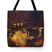 Jazz Miles Davis  Tote Bag