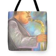 Jazz Musician Tote Bag