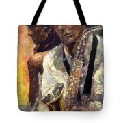Jazz Muza  Tote Bag