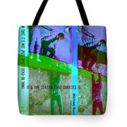 Jazz On The Edge Tote Bag