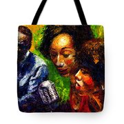 Jazz  Ray Song Tote Bag