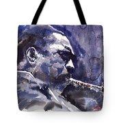 Jazz Saxophonist John Coltrane 01 Tote Bag