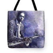 Jazz Saxophonist John Coltrane 03 Tote Bag by Yuriy  Shevchuk