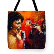 Jazz Song Tote Bag