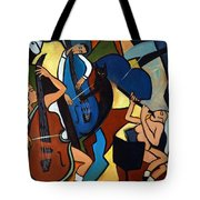 Jazz Trio  Tote Bag