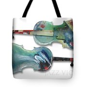 Jazz Violin - Poster Tote Bag