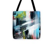 Jazzy Blues Tote Bag
