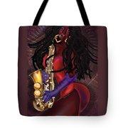 Jazzy Mama Tote Bag