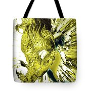 Jd And Leo- Inverted Gold Tote Bag