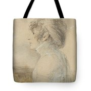 Jean-baptiste Isabey  1767 - 1855  Portrait Of Josephine In Malmaison Tote Bag