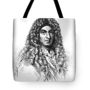 Jean-baptiste Lully, French Composer Tote Bag