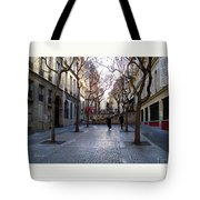 Jean Beauvais Paris Couple Walking Tote Bag