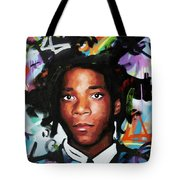Jean, Michel, Basquiat II Tote Bag