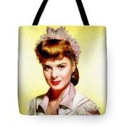 Jean Peters, Vintage Actress Tote Bag