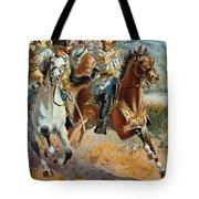 Jeb Stuarts Cavalry 1862 Tote Bag