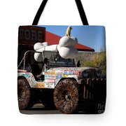 Jeep Art Tote Bag