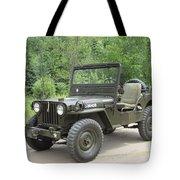 Jeep At Hydes Creek Tote Bag