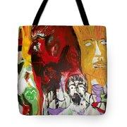 Jeff - Past Present Future Tote Bag