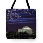 Jefferson Cherry Sunrise Tote Bag