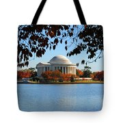 Jefferson In Splendor Tote Bag