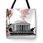 Jefferson In Spring Tote Bag
