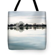 Jefferson Memorial And Tidal Basin Tote Bag