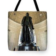 Jefferson Memorial Lll Tote Bag