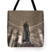Jefferson Memorial Tote Bag