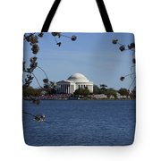 Jefferson Monument Tote Bag