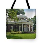 Jeffersons Monticello Tote Bag