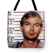 Jeffrey Dahmer Mug Shot 1991 Square  Tote Bag