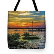 Jekyl Island Sunset Tote Bag