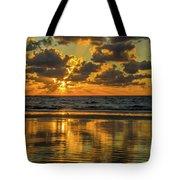 Jekyll Island Sunrise Tote Bag