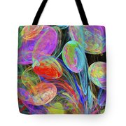 Jelly Beans And Balloons Abstract Tote Bag