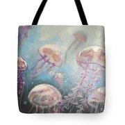 Jelly-fish Tote Bag